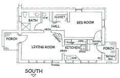 Floorplan - house plan 877