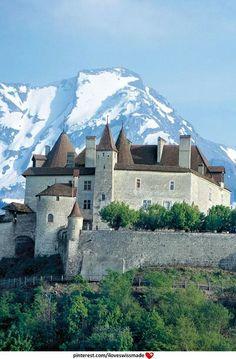 Chateau de Gruyères.