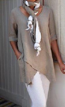 Half Sleeve Irregular Plus Size Blouses Asymmetrical Hem Shirt - moda Half Sleeves, Types Of Sleeves, Vetement Hippie Chic, Sexy Bluse, Boho Fashion, Womens Fashion, Fashion Design, Style Fashion, Beach Fashion