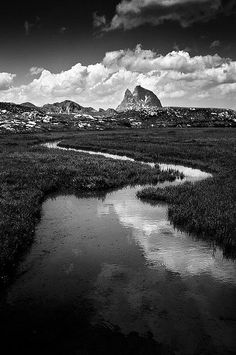 by Ansel Adams