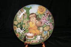 The 1998 Carol Lawson Plate   Teatime by HeathersVintageRetro, $20.00