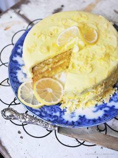 Lemon cake, yum...