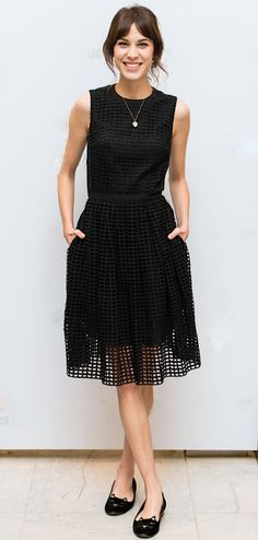 little black dress (alexa chung)