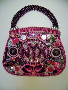 Mystic Krewe of NYX Purse Sculpture by nolasalvage on Etsy