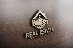 #RealEstate #Logo by Josuf Media on @creativemarket                                                                                                                                                                                 More