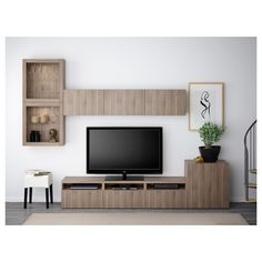 Most latest and graceful TV wall designs. Living room tv Storage Create this coo… Most latest and graceful TV wall designs. Living room tv Storage Create this cool concept in your favorite room. Ikea, Home, Living Room Tv, Interior, Ikea Tv, Living Room Diy, Ikea Living Room, Living Room Tv Wall, Home Decor