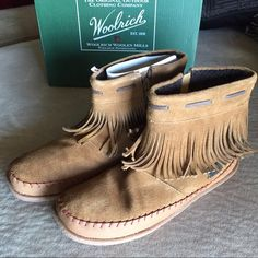 Woolrich Moccasin Boot Size 9 Brand new! Got for Christmas, never worn! In original box with fillers and all. Woolrich Shoes Ankle Boots & Booties