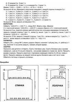 Жакет-куртка спицами / Вязание / Handlife.ru - творческая жизнь!