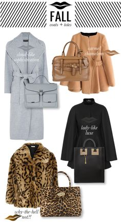 Fall Coats + Totes // Mrs. Lilien