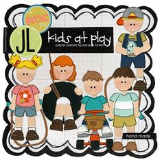 Kids at Play by Jacque