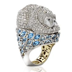 Introducing Sybarite jewellery | Harper's Bazaar | Polar Bear - only one made