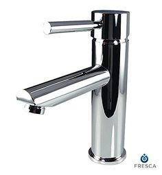 Bathroom Faucets DIY | Fresca Bath FFT1040CH Tartaro Single Hole Mount Bathroom Vanity Faucet Chrome ** Click image to review more details. Note:It is Affiliate Link to Amazon. #jjforum