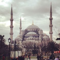 Blue Mosque in Turkey. Absolutely beautiful, an amazing experience.