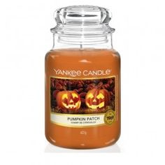 Yankee Candle Pumpkin Patch Large Jar Candle Candle Snuffer, Jar Candle, Candle Wax, Yankee Candle Fall, Yankee Candles, Candle Shades, Candle Diffuser, Fall Scents, Relaxing Day