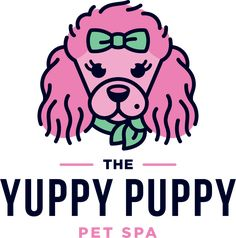 Pet Boarding & Day Care | The Yuppy Puppy Pet Spa | Dog Grooming Summer Dog Treats, Camp Logo, Pet Spa, Dog Hotel, Pet Boarding, Spa Services, Pet Care Tips, Relaxing Music, Pet Grooming