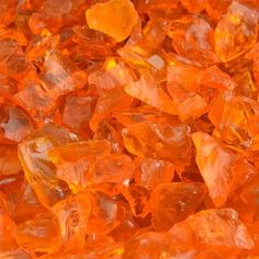 Tangerine Crushed Fire Glass is a bright orange fire glass for fire pits or fireplaces, perfect for replacing fire rocks, lava rocks or fake logs. The cheerful orange color lights up any room. Orange Aesthetic, Rainbow Aesthetic, Aesthetic Colors, Aesthetic Collage, Aesthetic Pictures, Fire Pit Glass Rocks, Fire Glass, Fire Rocks, Bedroom Wall Collage