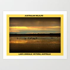 Lake Lonsdale Art Print by Chris Chalk - $17.68
