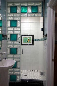 mettons des briques de verre dans la salle de bains - Mur En Brique De Verre Salle De Bain