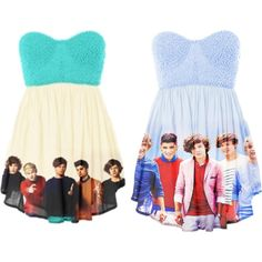 one direction, created by caitlynnarianna on Polyvore