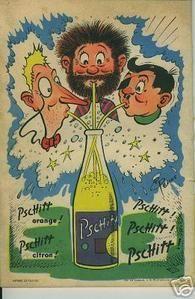 Autres Objets Publicitaires Publicité Advertising 1972 Eau Minérale Vittel Jade White