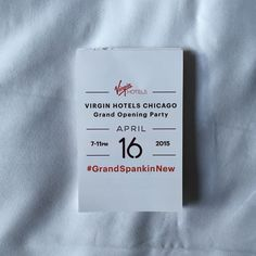 If you ever get invited to party with a billionaire, we highly suggest you take them up on it. Read about our night with Richard Branson celebrating the Grand Opening of their flagship Virgin Hotel.