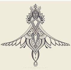 Here's a little digital drawing i finished recently. Cowgirl Tattoos, Boho Tattoos, Vine Tattoos, Anklet Tattoos, Body Art Tattoos, Mandala Tattoo Design, Henna Tattoo Designs, Color Bone Tattoo, All Seeing Eye Tattoo