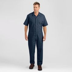 Dickies Men's Big & Tall Short Sleeve Coverall-