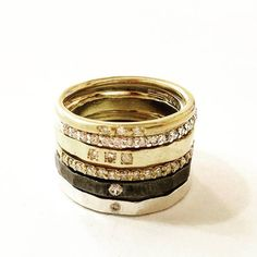 Thin Diamonds Engagement Ring , Gold and Diamonds Ring , Gold Tennis Ring , Stacking Engagement Ring , Red or White Diamonds Ring White Diamond Ring, 14k Gold Ring, Diamond Rings, Silver Rings, White Diamonds, Stacked Engagement Ring, Diamond Engagement Rings, Hand Sculpture, Rings For Men