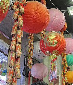 Chinese New Year Lantern and Firework Displays