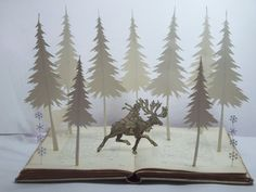 Chasing Father Christmas book sculpture fairytale enchanted forest available now