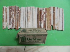Goldan Brand, Slate Pencil, Chalk Made from Natural, India Saleti 500 gr. Homemade Sidewalk Chalk, Selling On Pinterest, Dark Red, Earthy, Slate, Natural Stones, Pencil, Madhya Pradesh, India