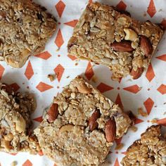 Pre-Workout Perfection: Coconut Almond Energy Bars: These protein- and carb-packed energy bars from The Runner's World Cookbook are the perfect snack to grab while you're getting ready for a workout.