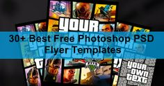 30+ Best Free Photoshop PSD Flyer Templates