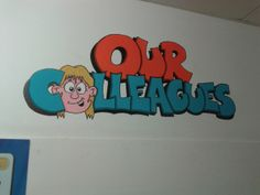 More doodling on the walls of work! ©2014 Lee Coleman (Doughbakes World)