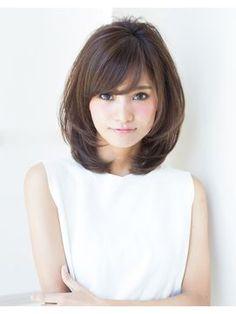 【ひし形】シルエットがきれいなシルエットを作る!! - 24時間いつでもWEB予約OK!ヘアスタイル10万点以上掲載!お気に入りの髪型、人気のヘアスタイルを探すならKirei Style[キレイスタイル]で。