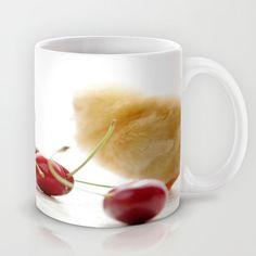 Sweet Chick and red Cherry Mug