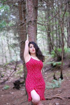 #forest #photoshoot #nature #reddress