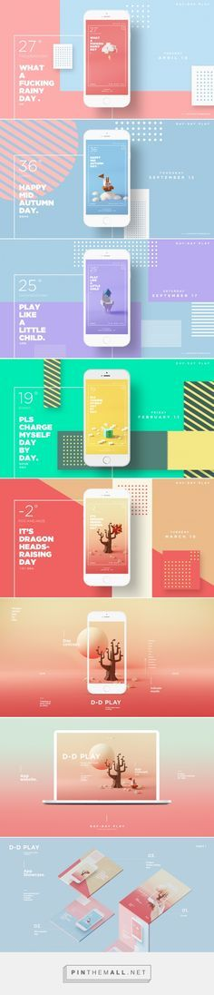 D-D Play - App Design | Abduzeedo Design Inspiration