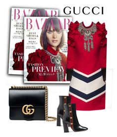 """Untitled #862"" by fl4u ❤ liked on Polyvore featuring Gucci"