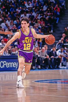 Jazz Basketball, Basketball Pictures, Soccer, Nfl Football, Baseball, John Stockton, King Picture, Karl Malone, Sacramento Kings