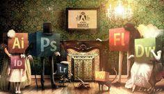 Uma parte da nossa família de coração. <3  Família Adobe!    #BruF2Design #TodasasCoresdoSucessoem2016 #DesignLife #MKT4Ever