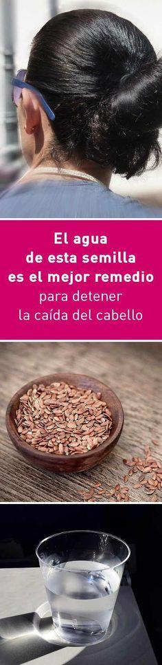 El agua de esta semilla es el mejor remedio para detener la caída del cabello
