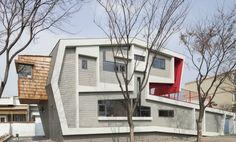 Roll House, house design, Moon Hoon
