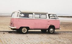 Super cute VW bus ~ would so love one of these