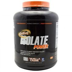 ISS OhYeah! Isolate Power Vanilla Creme 4 lbs (1814g)