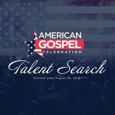 Enter the American Gospel Celebration Talent Search competition today! Aspiring, unsigned gospel singers can win a chance to perform at the #AmericanGospelCelebration Tailgate Event. Upload a solo or group vocal performance to the AGC Facebook page to enter to win. Visit AmericanGospelCelebration.com for more information. #TalentSearch #Contest #Gospel #Singers #Music #Perform #GetYourPraiseOn #TeamJesus #USA #LiveMusic