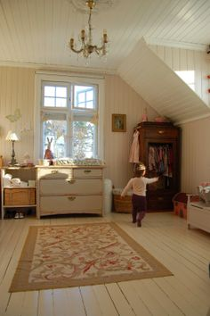 all wood finishing Baby Bedroom, Dream Bedroom, Girls Bedroom, Attic Spaces, Kid Spaces, Cool Kids Bedrooms, Country Interior, Bathroom Kids, Kids Decor