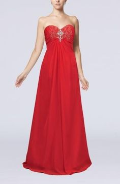 Sweetheart Elegant Evening Gown - Order Link: http://www.theweddingdresses.com/sweetheart-elegant-evening-gown-twdn7001.html - Embellishments: Beaded , Rhinestone , Embroidery; Length: Floor Length; Fabric: Chiffon; Waist: Empire - Price: 130.99USD