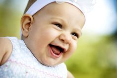 I want my baby to be this happy
