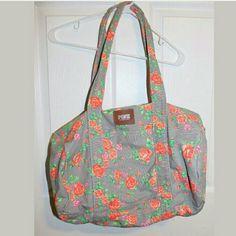 Rare Victoria Secret  floral print bag This is a vs gym,  duffle bag in a floral print. Victoria's Secret Bags Travel Bags